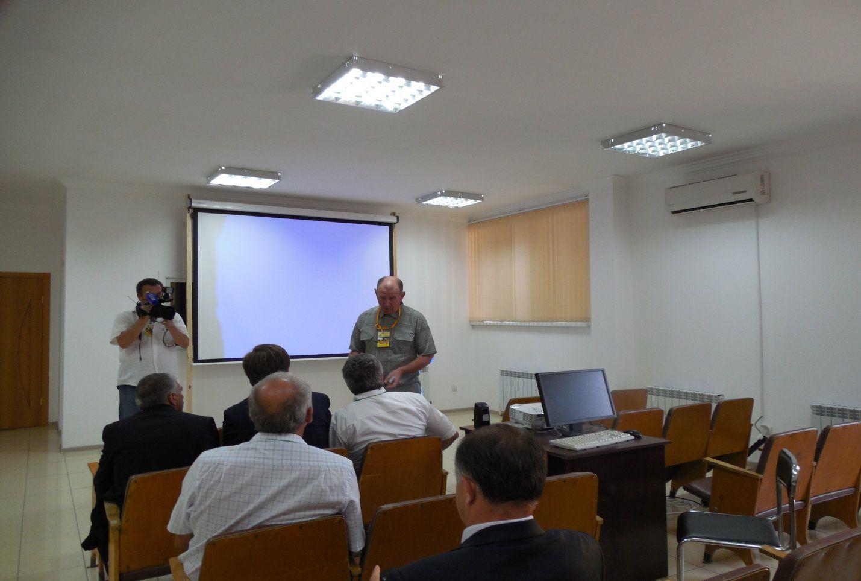 Встреча с представителями Министерства.